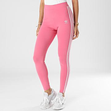 Adidas Originals - Legging Femme A Bandes 3 Stripes H09422 Rose