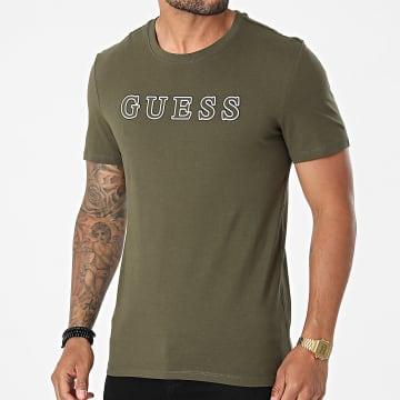 Guess - Tee Shirt M1YI53-I3Z11 Vert Kaki
