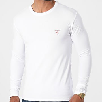 Guess - Tee Shirt Manches Longues M1RI28-J1311 Blanc