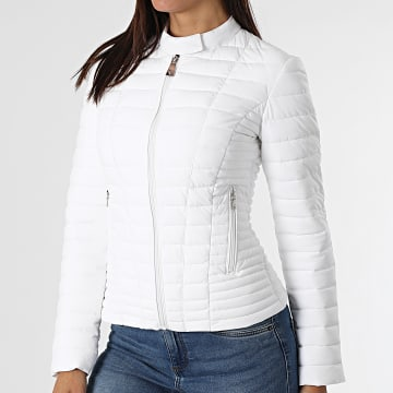 Guess - Doudoune Femme W0BL1I-W6NW0 Blanc