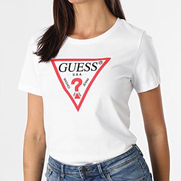 Guess - Tee Shirt Femme W1YI1B-I3Z11 Blanc