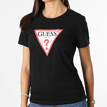 Guess - Tee Shirt Femme W1YI1B-I3Z11 Noir