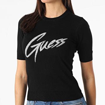 Guess - Haut Femme A Strass W1RR85-Z2NQ0 Noir