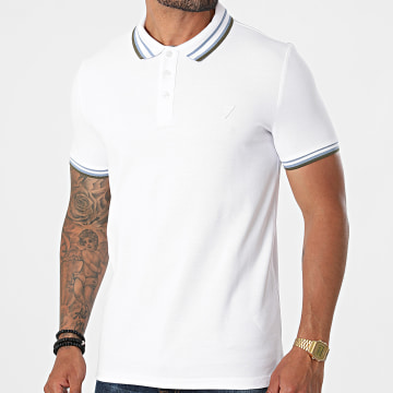 Guess - Polo Manches Courtes M1YP55-K9WF1 Blanc