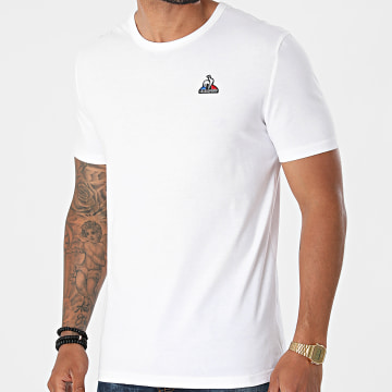 Le Coq Sportif - Tee Shirt Essential N3 2120202 Blanc