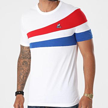 Le Coq Sportif - Tee Shirt Tricolore N1 2120315 Blanc