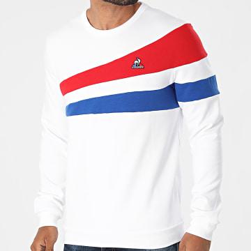 Le Coq Sportif - Sweat Crewneck Tricolore N1 2120316 Ecru