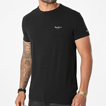 Pepe Jeans - Tee Shirt Original Basic Noir