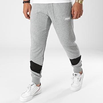 Puma - Pantalon Jogging Rebel 585753 Gris Chiné