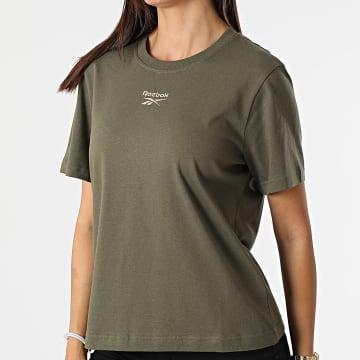 Reebok - Tee Shirt Femme Classics Small Logo GR0396 Vert Kaki