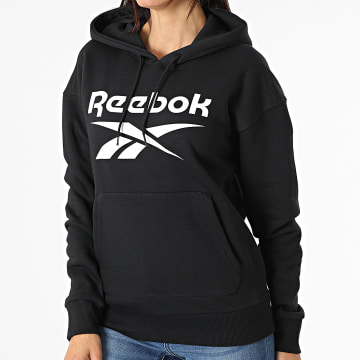 Reebok - Sweat Capuche Femme Reebok Identity Big Logo GS9392 Noir