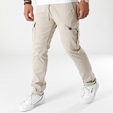 Reell Jeans - Pantalon Cargo Reflex Easy Cargo Beige