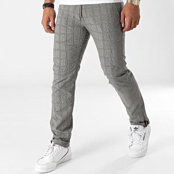 Reell Jeans - Pantalon A Carreaux Reflex Evo Gris