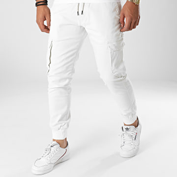Reell Jeans - Jogger Pant Reflex Rib Cargo Ecru