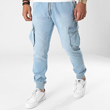 Reell Jeans - Jogger Pant Reflex Rib Cargo Bleu Denim