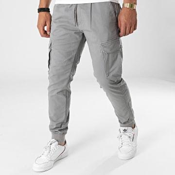 Reell Jeans - Jogger Pant Reflex Rib Cargo Gris