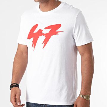 Samy Sana S47S - Tee Shirt 47 Blanc Rouge