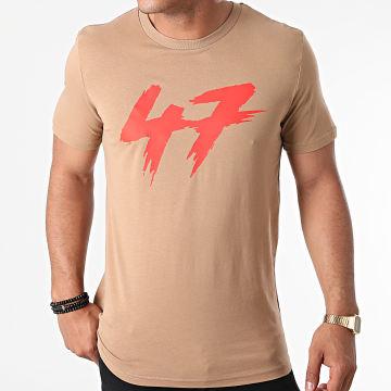 Samy Sana S47S - Tee Shirt 47 Camel Rouge