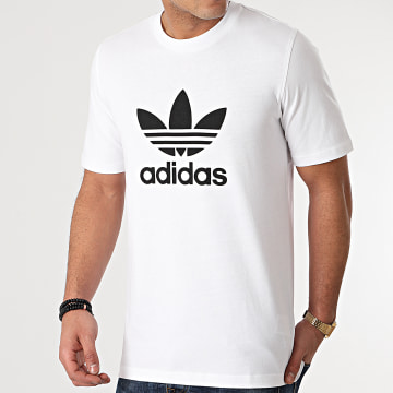 Adidas Originals - Tee Shirt Trefoil H06644 Blanc