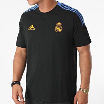 Adidas Performance - Tee Shirt A Bandes Real Madrid GR4345 Noir