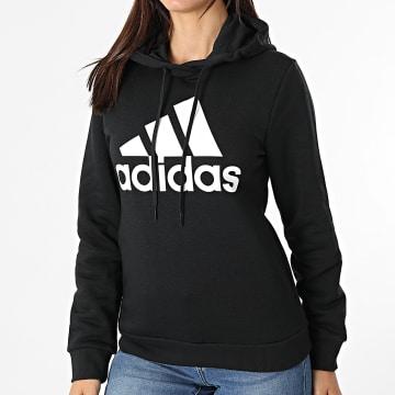 Adidas Performance - Sweat Capuche Femme GL0653 Noir