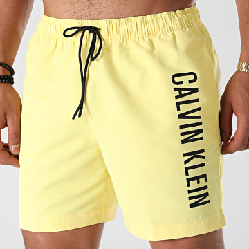 Calvin Klein - Short De Bain Medium Drawstring 0673 Jaune
