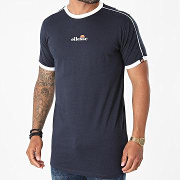 Ellesse - Tee Shirt Oversize Riesco SHJ11915 Bleu Marine