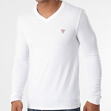 Guess - Tee Shirt Manches Longues M1RI08-J1311 Blanc