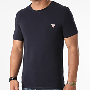 Guess - Tee Shirt M1RI24-J1311 Bleu Marine