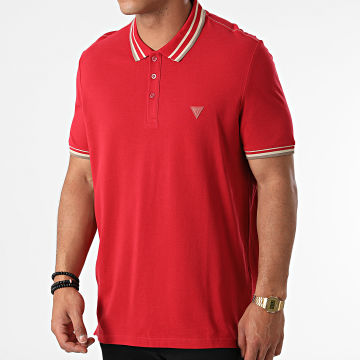 Guess - Polo Manches Courtes M1YP55-K9WF1 Rouge