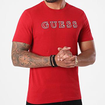 Guess - Tee Shirt M1YI53-I3Z11 Rouge