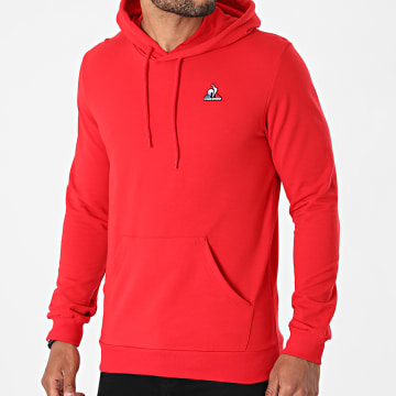 Le Coq Sportif - Sweat Capuche Essential N1 2120243 Rouge