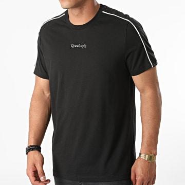 Reebok - Tee Shirt Training Essentials Piping GS9317 Noir