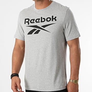 Reebok - Tee Shirt RI Big Logo GS1614 Gris Chiné