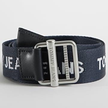 Tommy Jeans - Ceinture Essential Webbing 7521 Bleu Marine