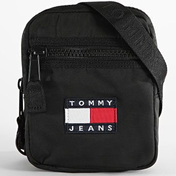 Tommy Jeans - Sacoche Heritage Reporter 7599 Noir