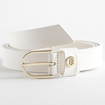Tommy Hilfiger - Ceinture Femme Classic 0074 Blanc