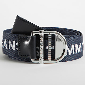Tommy Jeans - Ceinture Femme Essential Webbing 0175 Bleu Marine