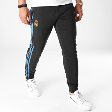 Adidas Performance - Pantalon Jogging A Bandes Real Madrid GR4308 Noir