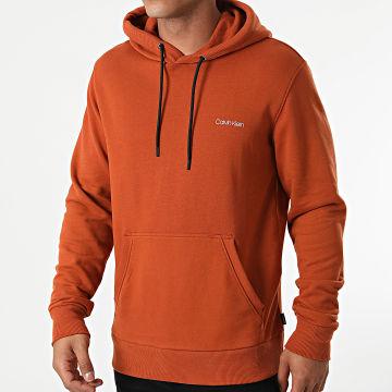 Calvin Klein - Sweat Capuche Small Chest Logo 7165 Orange