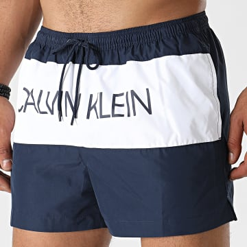 Calvin Klein - Short De Bain Short Drawstring 0553 Bleu Marine