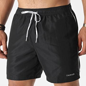Calvin Klein - Short De Bain Medium Drawstring 0565 Noir