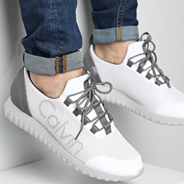 Calvin Klein - Baskets Runner Sneaker Lace Up Mesh