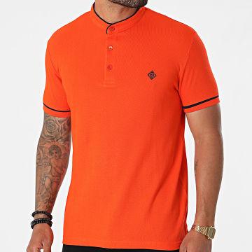 La Maison Blaggio - Polo Manches Courtes Pasco Orange