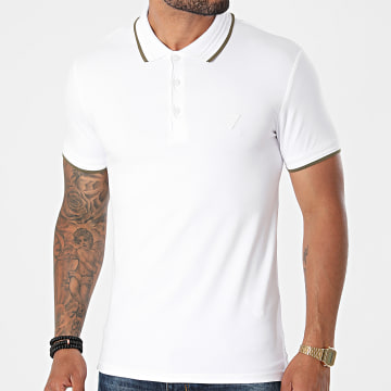Guess - Polo Manches Courtes M1YP66-J1311 Blanc
