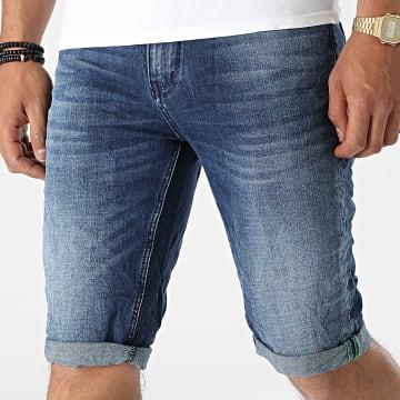 KZR - Short Jean TH37771 Bleu Denim
