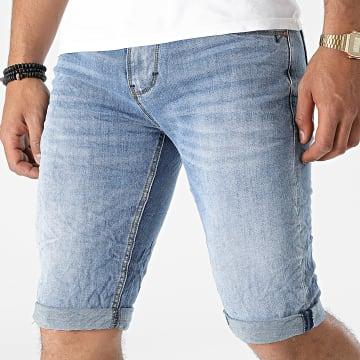 KZR - Short Jean TH37772 Bleu Denim