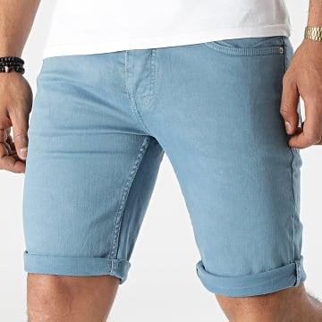 KZR - Short Jean NGN-8023 Bleu