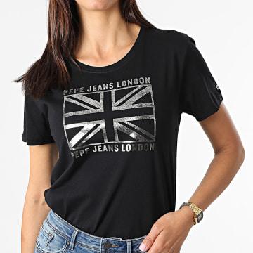 Pepe Jeans - Tee Shirt Femme Zeldas Noir