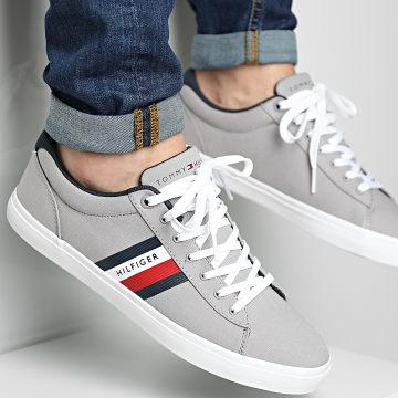 Tommy Hilfiger - Baskets Essential Stripes Detail Sneaker 3389 Antique Silver